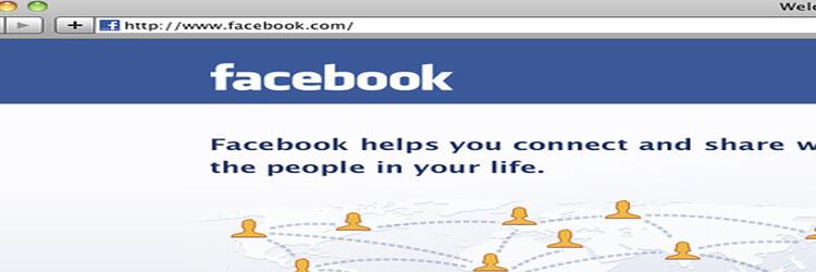 page sur Facebook